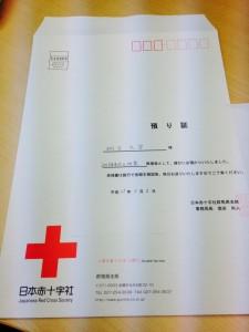 赤十字証拠写真